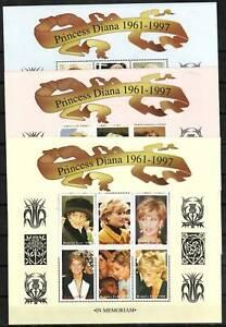 Burkina Faso Stamp - Princess Diana Stamp - NH