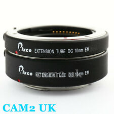 Pixco Auto Focus Macro Extension Tube Adapter for Canon EOS M M2 EF-M mount EFM