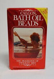 Calgon Take Me Away Bath Oil Beads the fragrance of Twilight mist vintage 16 oz