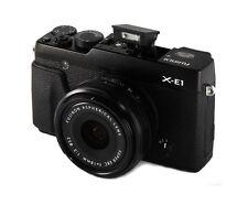 Fujifilm X Series X-E1 16.3MP Digitalkamera - Schwarz mit Fujinon XF 18mm F2 R