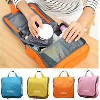 Travel Storage Makeup Toiletry Organizer Cosmetic Purse Wash Hanging Bag DP