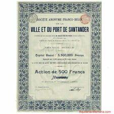 Ville et port de Santander