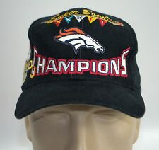 Denver Broncos Super Bowl XXXII Cap 1998 Champion Hat Logo Athletic Snapback NFL