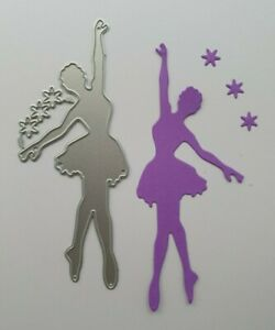 Craft Metal cutting die Scrapbooking Paper craft  DIY Cards - Ballet Dancer