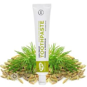 Green People Organic Fennel & Propolis Toothpaste 50ml - Sensitive Teeth & Gums