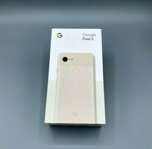 Google Pixel 3 - 64GB - Not Pink Verizon Factory Unlocked BRAND NEW SEALED