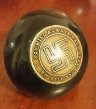 Vintage bakelite good luck rat hot rod shift knob Pick up truck.