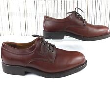 CAMEL BOOTS mens brown oxblood lace up brogue Made in Germany 9.5 F
