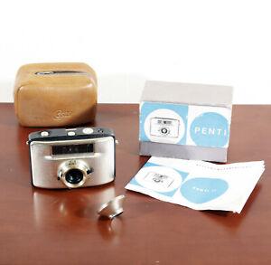 Welta Penti II 30mm mit Objektiv Meyer Domiplan 3,5/30 OVP DDR Kamera Pentacon
