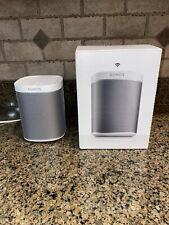 Sonos PLAY:1 Wireless Speaker (White) w/ Original Box and Guides - Sound System