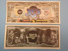 Rock Band YES: Jon Anderson, Chris Squire ~ $1,000,000 One Million Dollar Bill