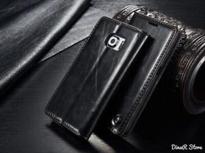 Handyhülle Für Samsung Galaxy S6 EDGE Tasche Hülle - Schwarz (3CSC)