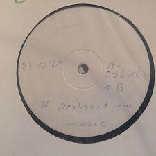 LP Buddy Holly * A PORTRAIT IN MUSIC * one-sided/unilateralmente testpress GERMANY 1971