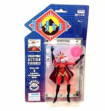 Vintage 1995 TV related ReBoot HEXADECIMAL Action figure, Irwin Toys , unopened