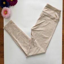 LuLaroe Girls Leggings Size OSFA Blue/Pink Plaid