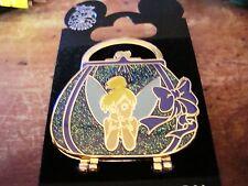 Tinker Bell Glitter Purse LE 1500 Pin on Original Card