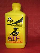 Olio Trasmissione Bardahl ATF SPEED D III Multivehicle