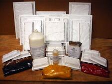 DIY CASTLE STONE CONCRETE PAVER KIT w/29 MOLDS, COLOR, SEALER, ADDITIVE, RELEASE