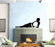 Sexy Hot Girl Shadow Beautiful Firure Mural Wall Art Decor Vinyl Sticker z199