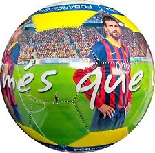 2014 FC Barcelona High Definition Photo Soccer Ball #5-'Mes Que Un Club' [Misc.]