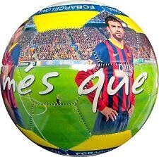 2014 FC Barcelona High Definition Photo Soccer Ball #5-'Mes Que Un Club' [Misc.]