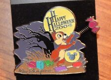 Disney WDW Chip Dale Pin Happy Halloween 2004 Trick or Treat LE 1500