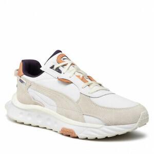[381901-01] Puma Wild Rider SC Men's Lifestyle Sneakers Grey/White *NEW*