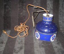1960s - 1970s Pabst Blue Ribbon Beer Hanging Cash Register Light