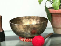 12 inch Master Healing Full Moon Singing Bowl - 30 cm - Nepalese Sound Therapy B