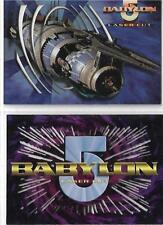 Babylon 5 Season 4 L1 - L2 Laser Cut Card Set Fleer/SkyBox 1998