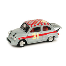 FIAT ABARTH 1000 '66 N.31 1:43 Brumm Auto Competizione Die Cast Modellino