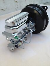 1967-70 Ford Mustang power brake booster master cyl disc drum & pedal