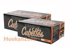 2 KG 240 Titanium Natural Coconut Hookah Charcoal Coal Coco Nara Cube Cubette