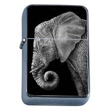 Elephant Art D21 Flip Top Oil Lighter Windproof Resistant Flame