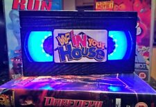 WWE In Your House, VHS Night Light, Desk Lamp, Led, WWF, Bedroom Lamp, TV, Kids