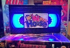 WWE In Your House, VHS Night Light, Desk Lamp, Led,WWF, Bedroom Lamp, TV, Kids