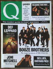 Q magazine - Pogues, Def Leppard, Joni Mitchell (May 1988 - Issue 20)