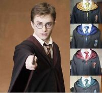 Adult Deluxe Harry Potter Quidditch Robe Fancy Dress Costume Unisex