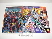 Stormwatch 4 Comic Lot Image 1993 Battalion Fuji Scott Clark Brett Booth Jim Lee