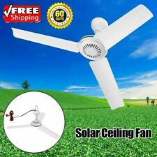 6W Ceiling Fan Mini Solar Powered Cooling Small Air Conditioning Appliances