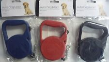 Retractable Automatic Dog Lead (Red, Blue or Black) 3m (Small & Medium Dogs)