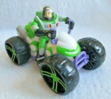 Buzz Lightyear Car Toy Story Pull Back Atv 4 Wheeler Disney/Pixar 2007