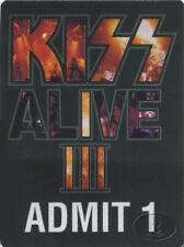 KISS 1993 ALIVE III PRIVATE PARTY TICKET