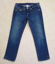 True Religion Womens Kate Skinny Capri Jeans Size 26 Crop Pants