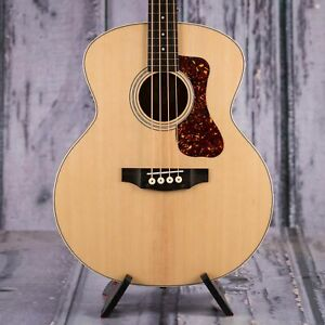 Guild B-240EF Fretless Acoustic/Electric Bass, Natural
