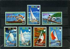 EQUATORIAL GUINEA 1972 WATER SPORTS/OLYMPIC GAMES KIEL 7 STAMPS MNH