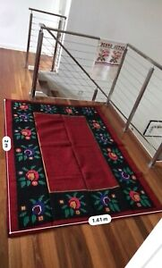 Croatian Handmade Wool Floor Carpet Rug Decor