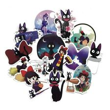 15pcs Kiki's Delivery Service Sticker Anime Stickers For Laptop Suitcase Stylish