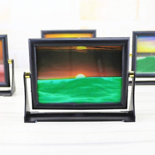 Moving Sand Picture Frame Drifting Sandscapes Motion Art Decor Desk Decorative