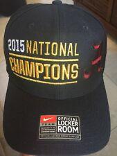 NIKE NCAA Alabama Crimson Tide  2015  BCS National Champions Snapback Hat